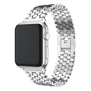 metal link bracelet for apple watch 6 band 40mm 44mm iwatch band 38mm 42mm stainless steel strap band for apple watch 6 SE 5 4 3
