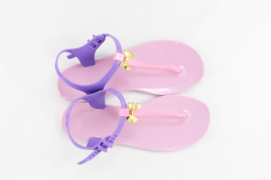 Momono Jelly Shoes Bow Petal