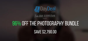 The 5 Day Deal Photography Bundle Sale - 96% OFF