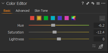 Capture One color grading