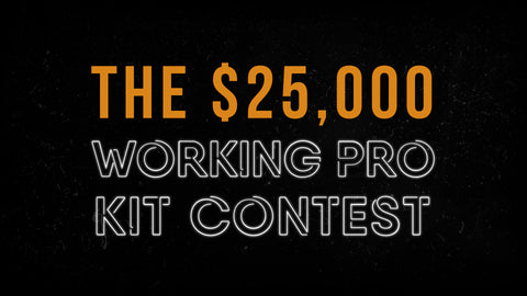 The $25,000 Working Pro Kit Contest