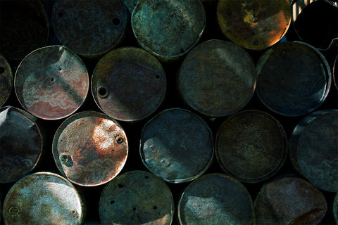 Barrels with added color and texture