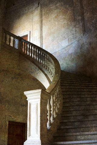 Staircase with added texture