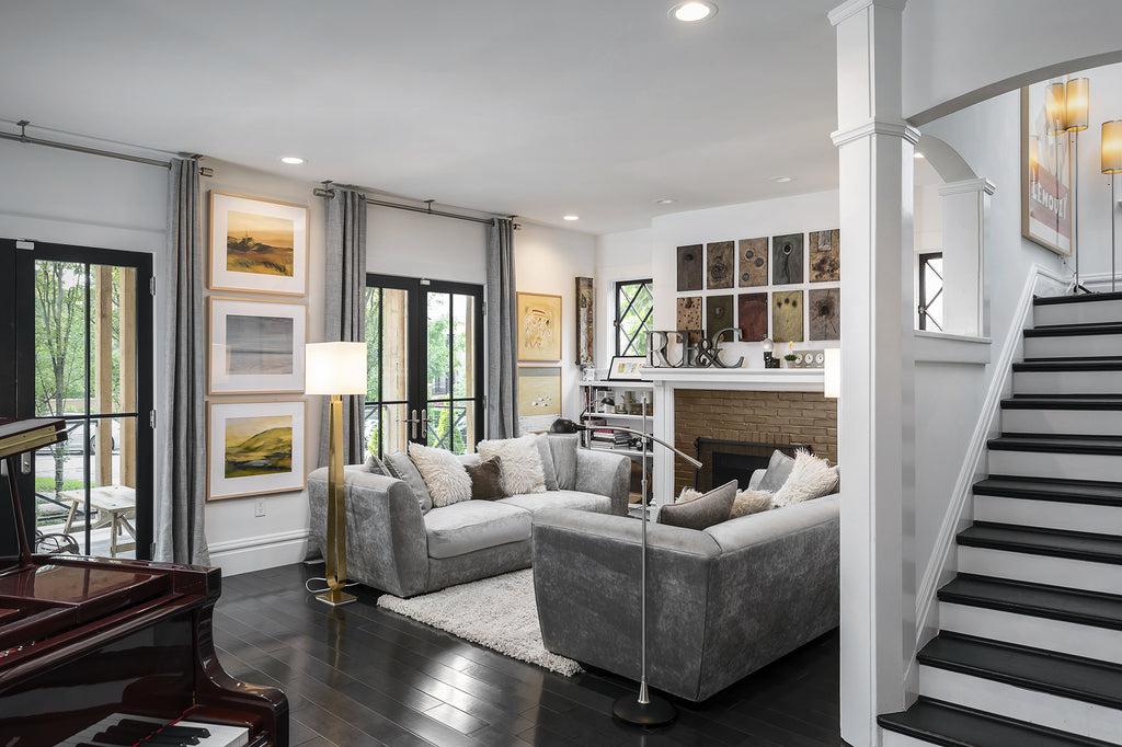 Real Estate Photo of White Parlor