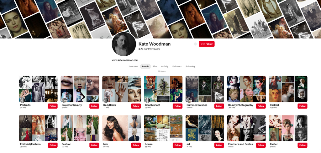 Kate's Pinterest Boards