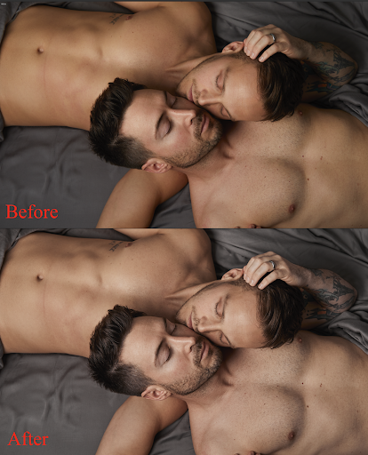 Skin tone changes in Capture One