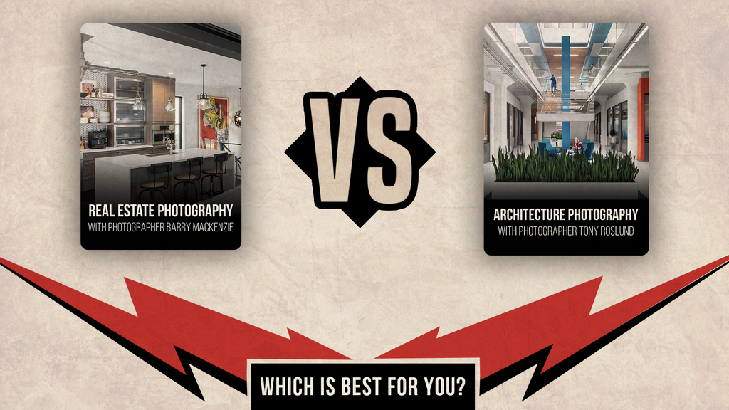 Real Estate Photography vs. Architectural Photography - Which is best for you?