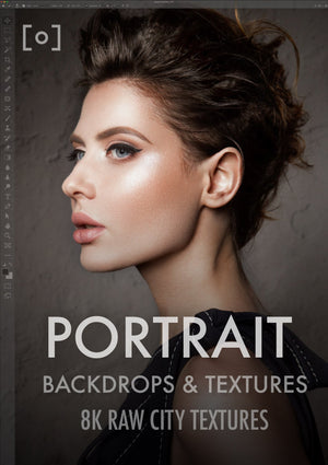 8K RAW Portrait Textures & Backdrops