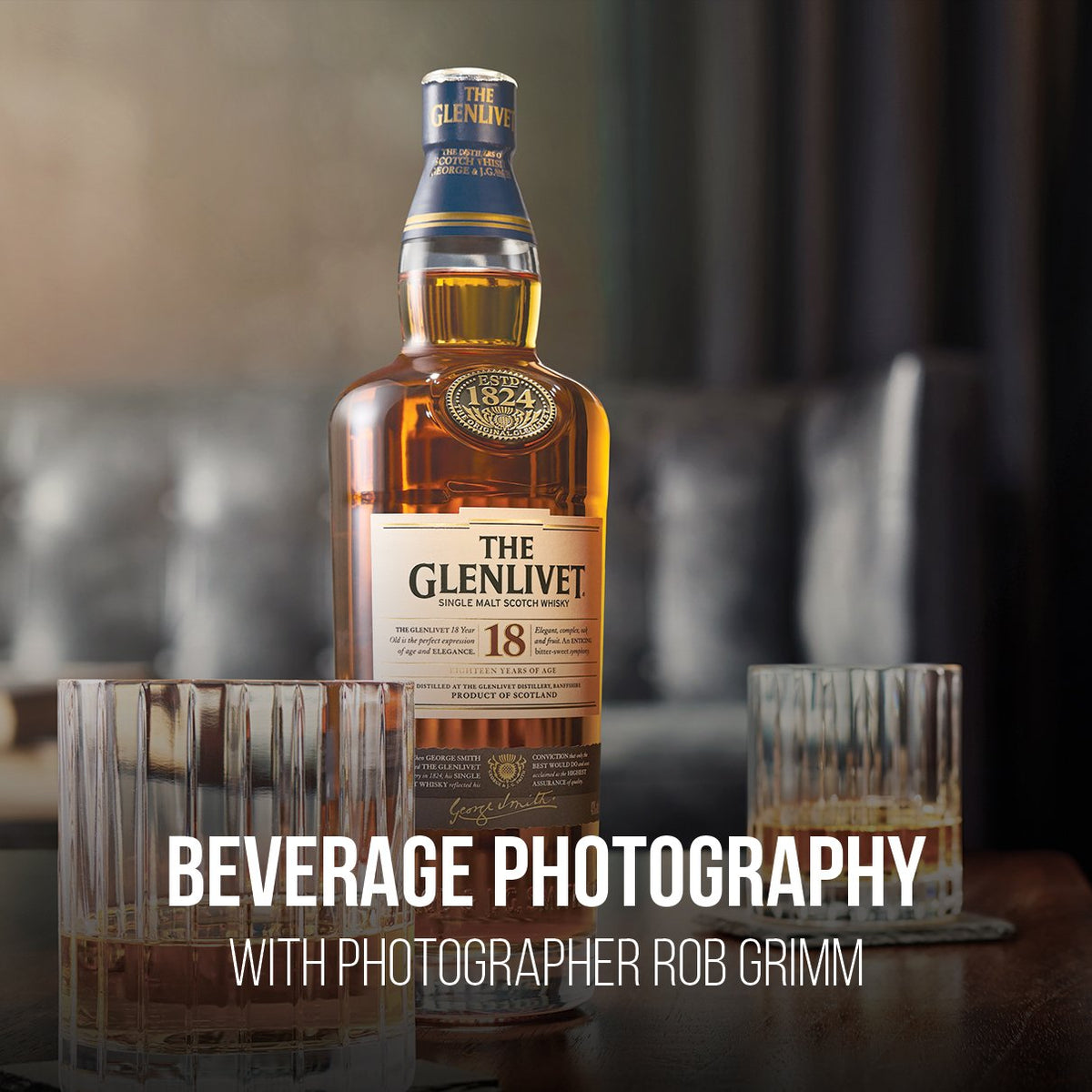 Commercial Beverage Photography & Retouching For Advertising