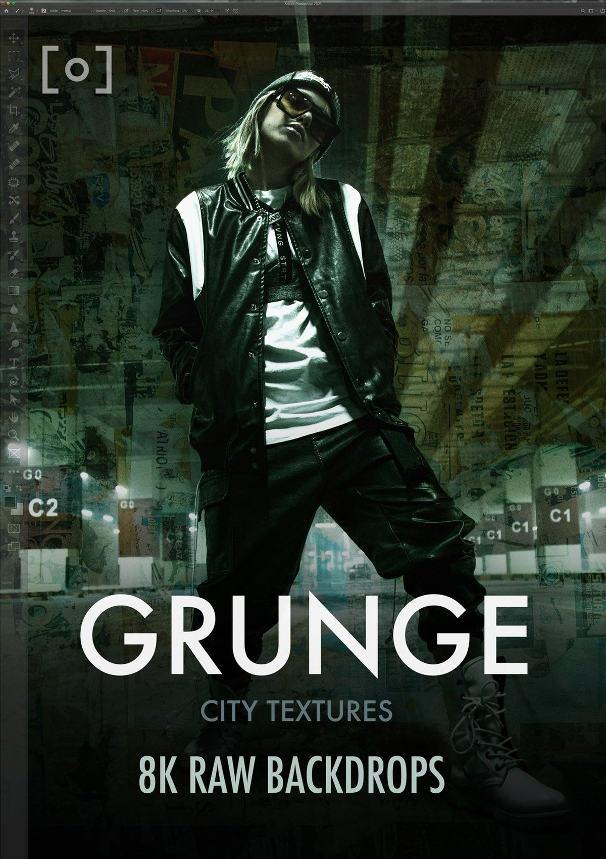 GRUNGE RAW Backdrops