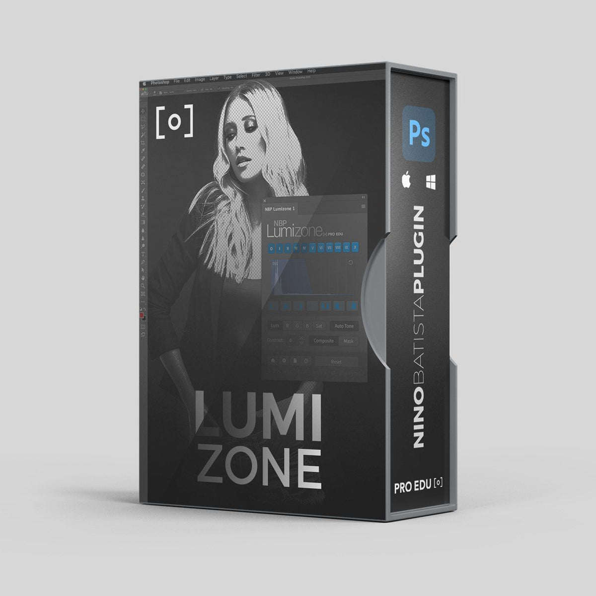 Lumizone Photoshop Retouching Plugin