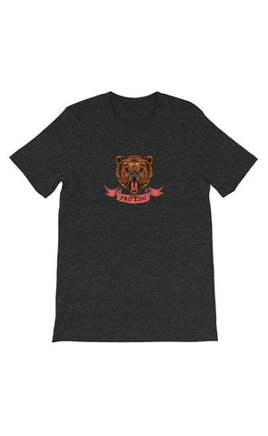 Exclusive PRO EDU T-Shirt - Grizzly Gray