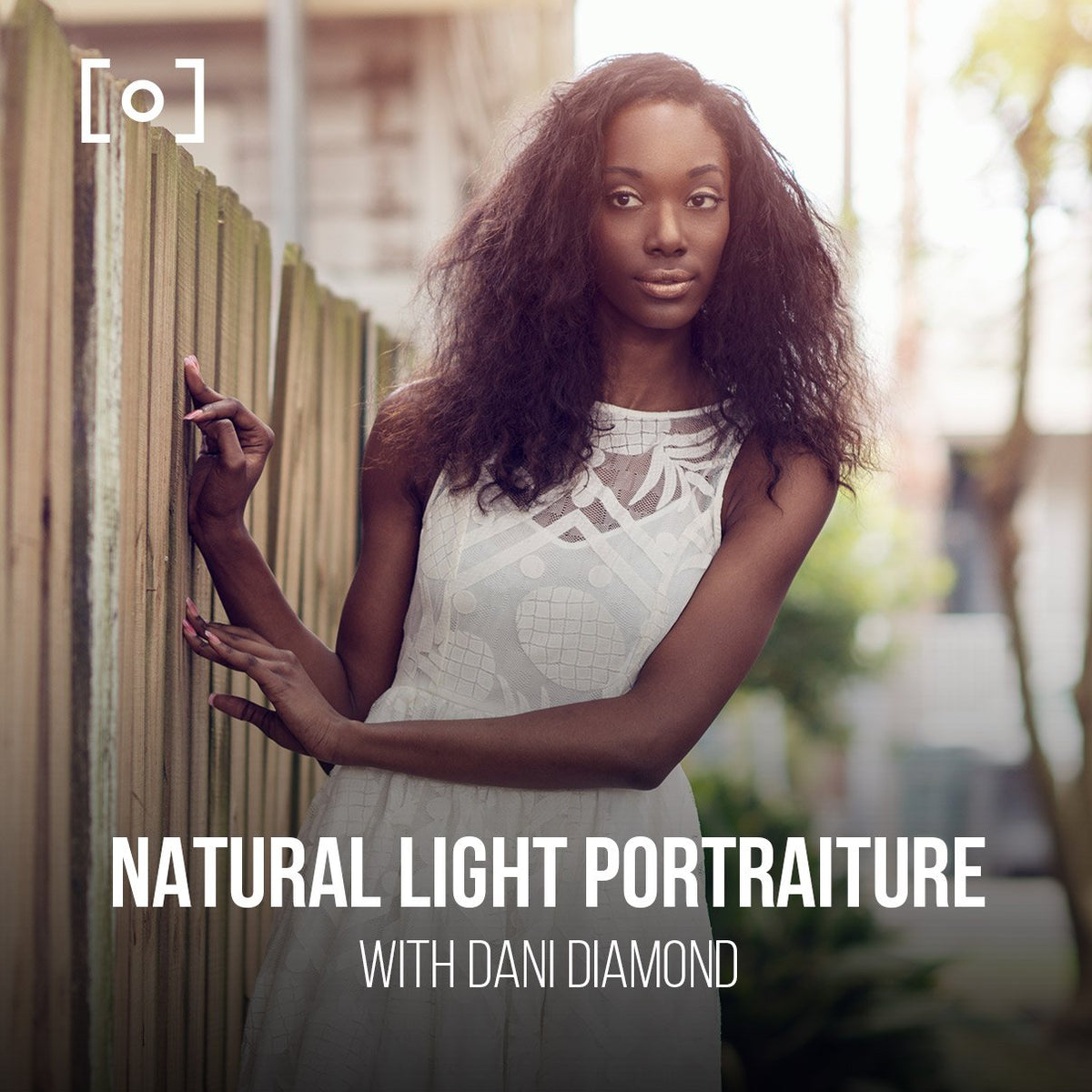 Retrato y retoque de luz natural con Dani Diamond