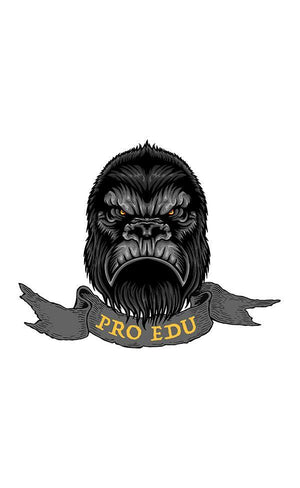 Exclusive PRO EDU T-Shirt - Indigo Ape