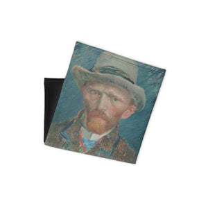 Vincent Van Gough - Self Portrait - Fine Art Face Cover Series