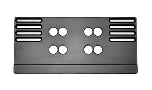Premium Short Number Plate Holder for Short Number Plate 380x110 - Number Plate Holder