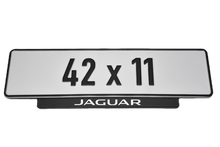 Laden Sie das Bild in den Galerie-Viewer, Short Number Plate Holder for Jaguar