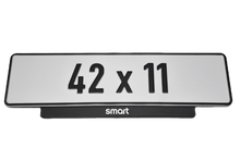 Load image into Gallery viewer, Short Number Plate Holder for Smart