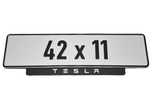Load image into Gallery viewer, Short Number Plate Holder for Tesla