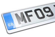 Load image into Gallery viewer, Premium White Number Plate Holder for Nissan - Number Plate Holder