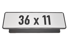 Load image into Gallery viewer, Premium Short Number Plate Holder for Short Number Plate 360x110 - Number Plate Holder