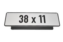 Load image into Gallery viewer, Premium Short Number Plate Holder for Short Number Plate 380x110 - Number Plate Holder