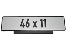 Load image into Gallery viewer, Premium Short Number Plate Holder for Short Number Plate 460x110 - Number Plate Holder