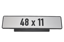 Load image into Gallery viewer, Premium Short Number Plate Holder for Short Number Plate 480x110 - Number Plate Holder