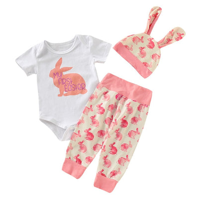 "3 Pcs Girls ""My First Easter"" Set"