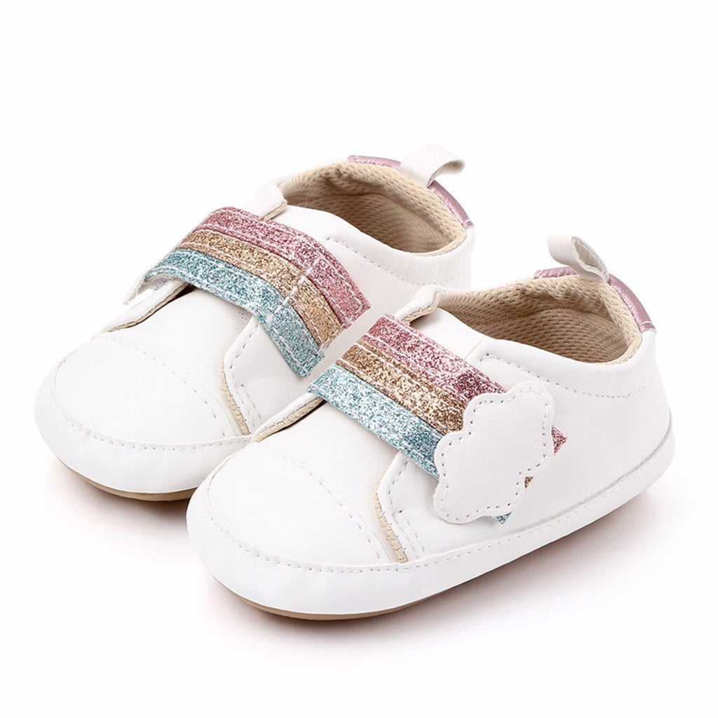 Girl Rainbow Cloud Shoes