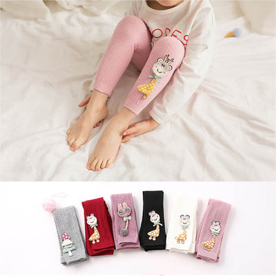 Girls Toddler Cartoon Tights