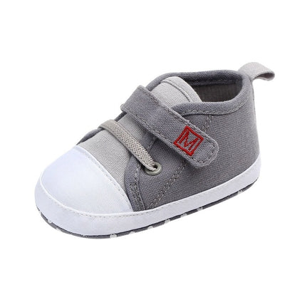Boys Canvas First Walkers Shoes