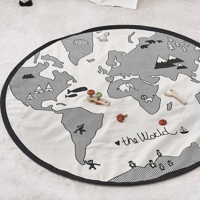 Unisex Baby World Play Mat