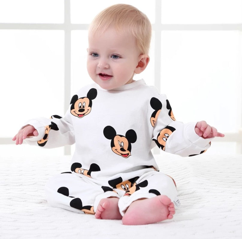 Unisex Disney Mickey Cartoon Onesie