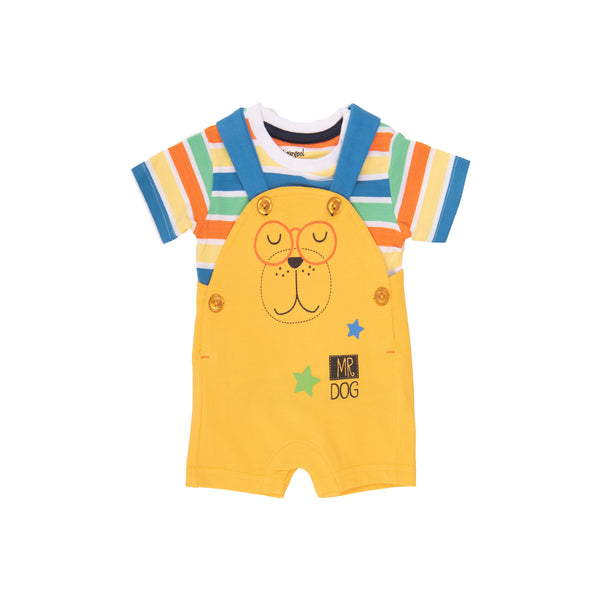 Baby Boy - Mr Dog 2 Piece Set