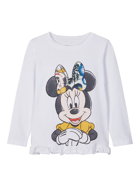 DISNEY MINNIE MOUSE LONG-SLEEVED T-SHIRT