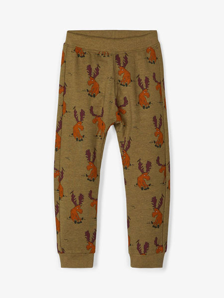 MiniBoy Moose Print Bottoms
