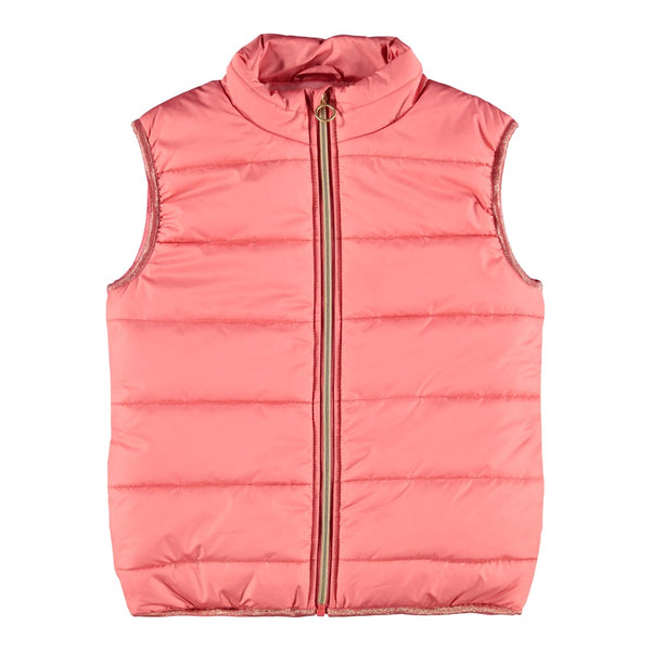 Kid Girl Padded Gilet