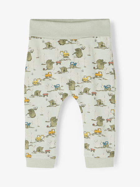 Baby Boy Mole Print Bottoms