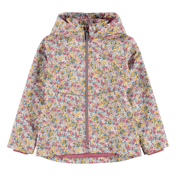 Kid Girl Floral Print Spring Jacket