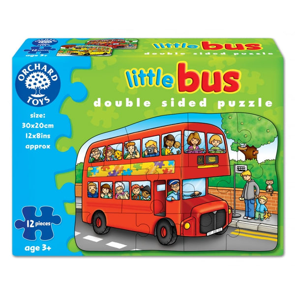 Little Bus 12 Piece Jigsaw
