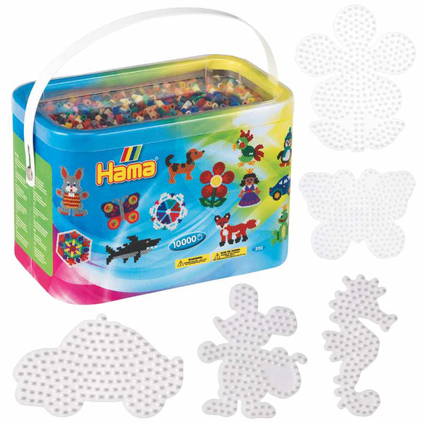 Hama 10,000 Bead Bucket Set