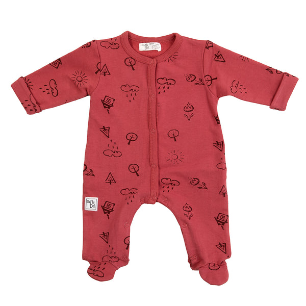 Babybol Girls Romper