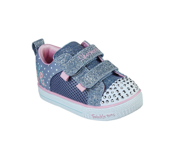 SKECHERS INFANTS TWINKLE TOES MISS BUTTERFLY