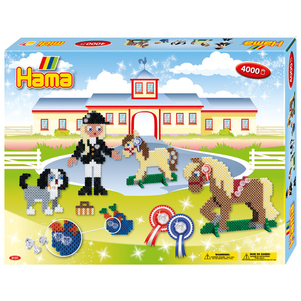 Hama Riding School Large Activity Box