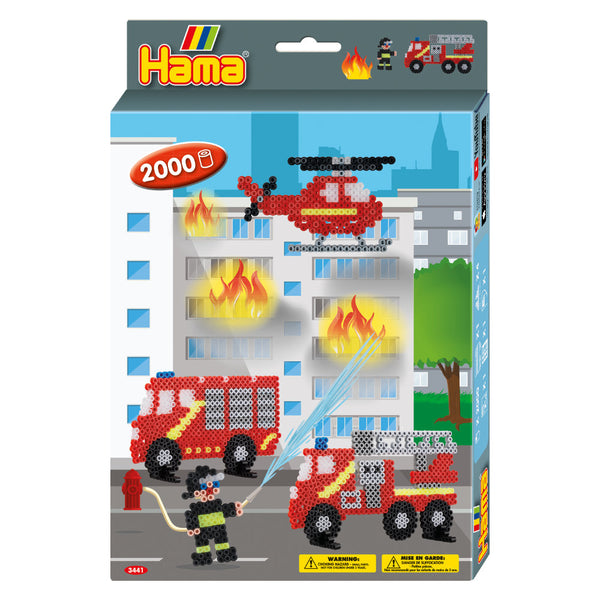 Hama Firefighters Gift box