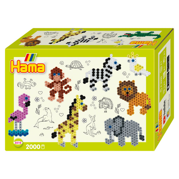 Hama Zoo Small World Activity Box