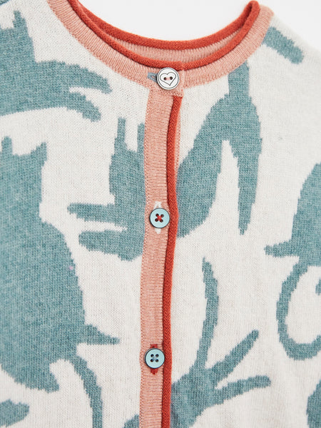 Scaredy Cat 2 in1 Cardi Jumper