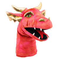 Large Dragon Head - Red