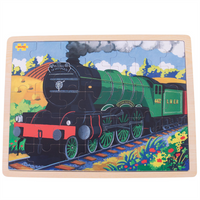 35 Piece Flying Scotsman Tray Puzzle